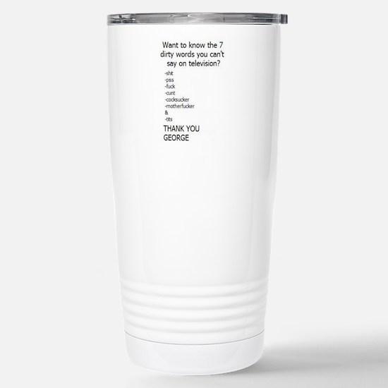 Cute Dirty words Travel Mug