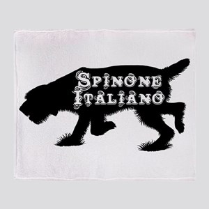 Spinone Throw Blanket