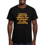 Repossessed Men's Fitted T-Shirt (dark)