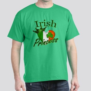 Irish Princess St Patricks Day Dark T-Shirt