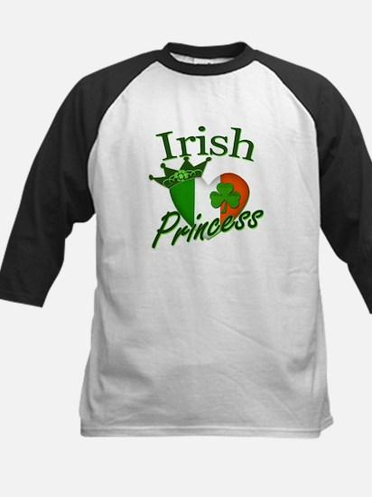 Irish Princess St Patricks Day Kids Baseball Jerse