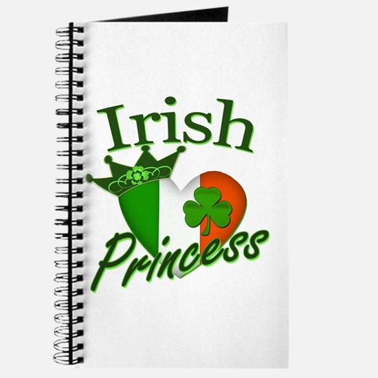 Irish Princess St Patricks Day Journal