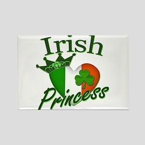 Irish Princess St Patricks Day Rectangle Magnet