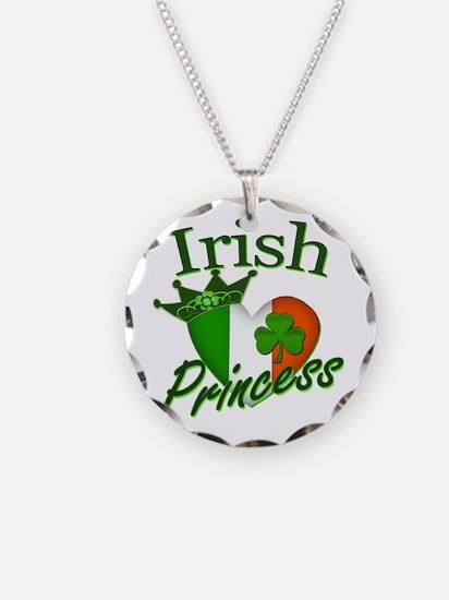 Irish Princess St Patricks Day Necklace Circle Cha