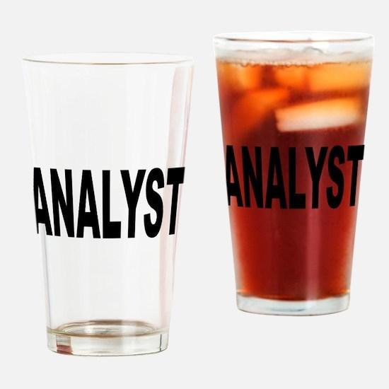 Analyst Drinking Glass