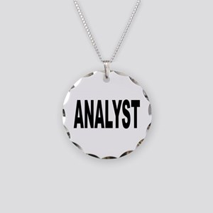 Analyst Necklace Circle Charm