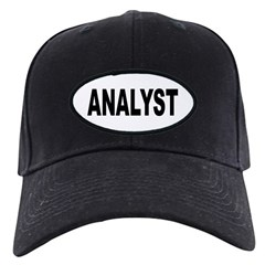Analyst Baseball Hat