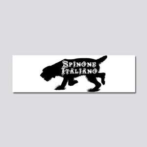 Spinone Car Magnet 10 x 3