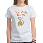 Forget Candy Women's T-Shirt