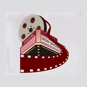 theater cinema film Throw Blanket