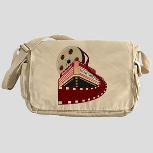 theater cinema film Messenger Bag