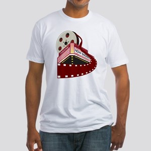 theater cinema film Fitted T-Shirt