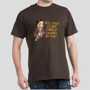 Funny Retro Coffee Humor Dark T-Shirt