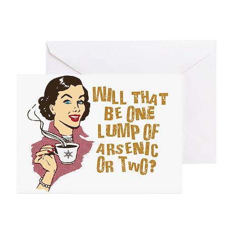 Funny Retro Coffee Humor Greeting Cards (Pk of 10)