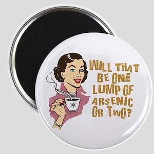 Funny Retro Coffee Humor Magnet