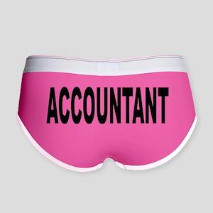 Accountant Women's Boy Brief