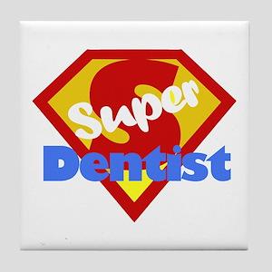 Funny Dentist Dental Humor Tile Coaster