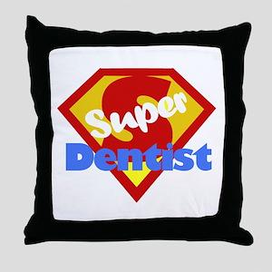 Funny Dentist Dental Humor Throw Pillow