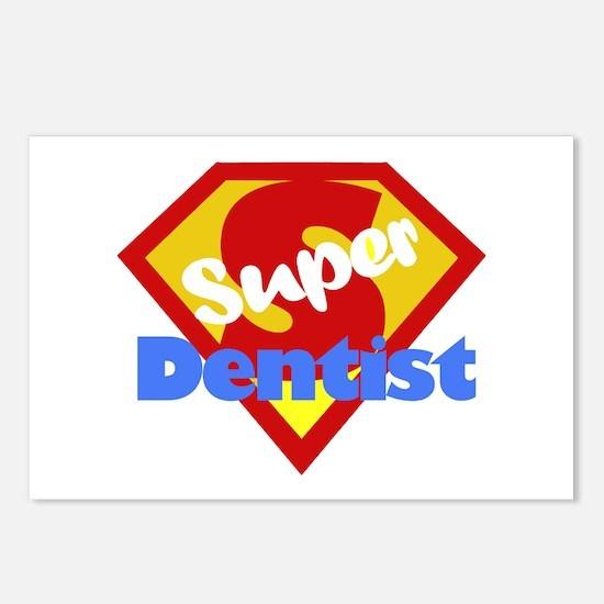 Funny Dentist Dental Humor Postcards (Package of 8