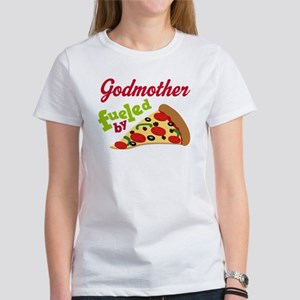 Godmother Funny PIzza Women's T-Shirt