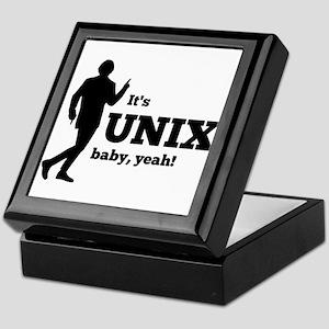 Unix Baby Yeah Keepsake Box