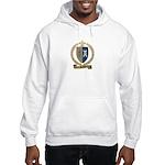 POITIER Family Crest Hooded Sweatshirt