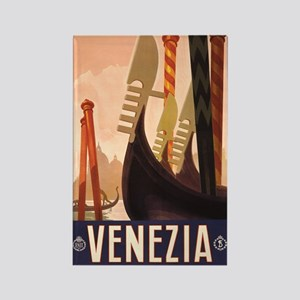 Venezia Italia Rectangle Magnet