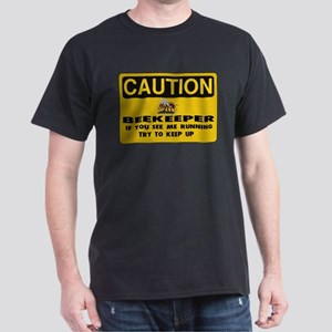 Caution Beekeeper Dark T-Shirt