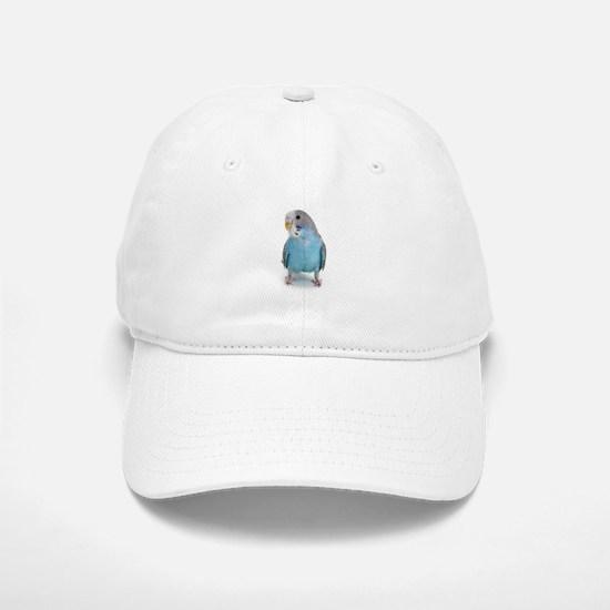 Blue Parakeet Baseball Baseball Cap