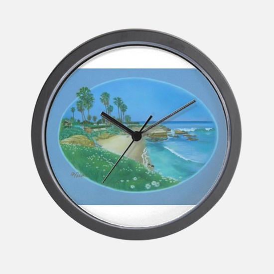 Floating Cove Wall Clock