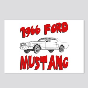 1966 Ford Mustang Postcards (Package of 8)