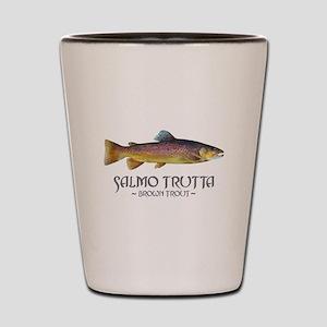 Salmo Trutta - Brown Trout Shot Glass