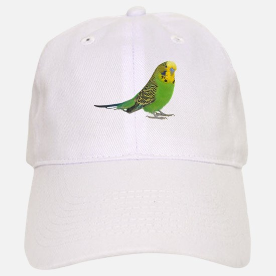 Green Parakeet Baseball Baseball Cap