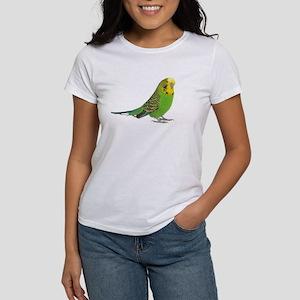 Green Parakeet Women's T-Shirt