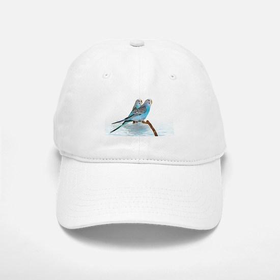 Parakeet Friends Baseball Baseball Cap