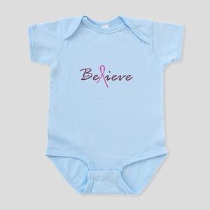 Believe Breast Cancer Infant Bodysuit