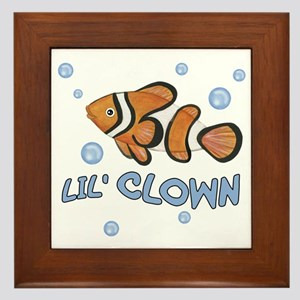 Lil' Clown Fish - Framed Tile