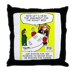 Judge's Throw Pillow