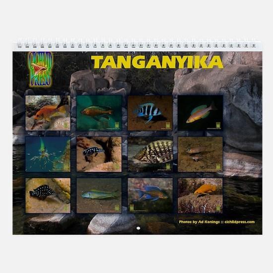 Tanganyika Cichlids Congo Wall Calendar