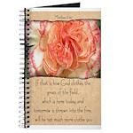 Matthew 6:30 Journal