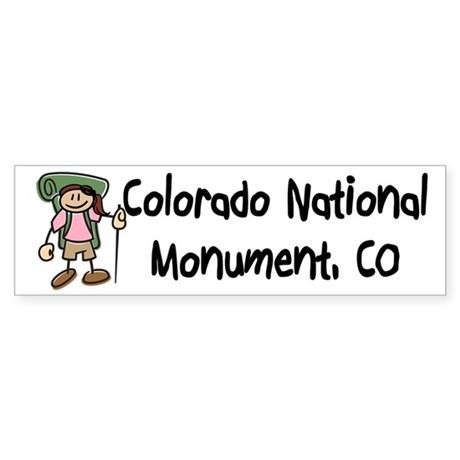 Hike Colorado Nat Monument (Girl)