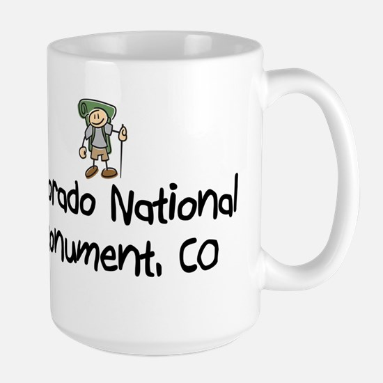 CO Nat Monument (Boy) Large Mug