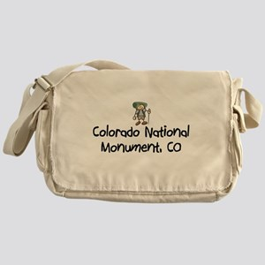 CO Nat Monument (Boy) Messenger Bag