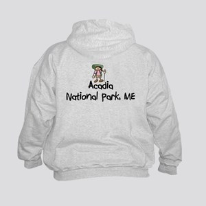 Arcadia National Park (Girl) Kids Sweatshirt