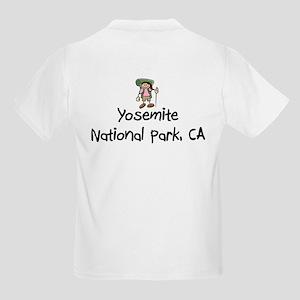 Yosemite National Park (Girl) Kids Light T-Shirt