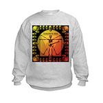 Leoguitar1 Kids Sweatshirt