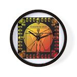 Leoguitar1 Wall Clock