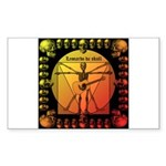 Leoguitar1 Sticker (Rectangle)