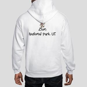 Zion National Park (Girl) Hooded Sweatshirt