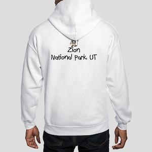 Zion National Park (Boy) Hooded Sweatshirt